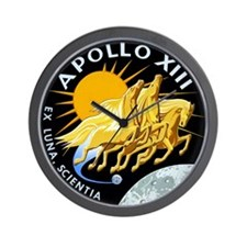Apollo 13 Mission Patch Wall Clock
