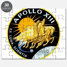 Apollo 13 Mission Patch Puzzle