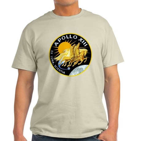 Apollo 13 Mission Patch Light T-Shirt