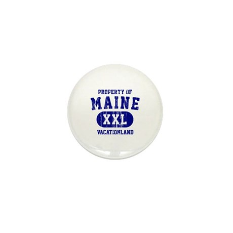 Property of Maine, Vacationland Mini Button