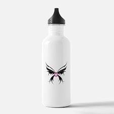 Womans Tribal Butterfly 2000x2000.png Water Bottle