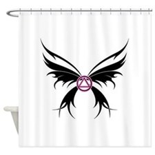 Womans Tribal Butterfly 2000x2000.png Shower Curta