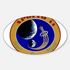 Apollo 14 Mission Patch Decal