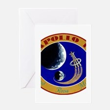 Apollo 14 Mission Patch Greeting Card
