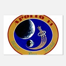 Apollo 14 Mission Patch Postcards (Package of 8)