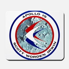 Apollo 15 Mission Patch Mousepad