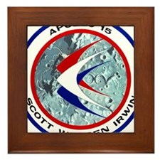 Apollo 15 Mission Patch Framed Tile