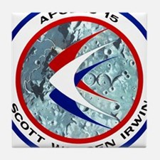 Apollo 15 Mission Patch Tile Coaster