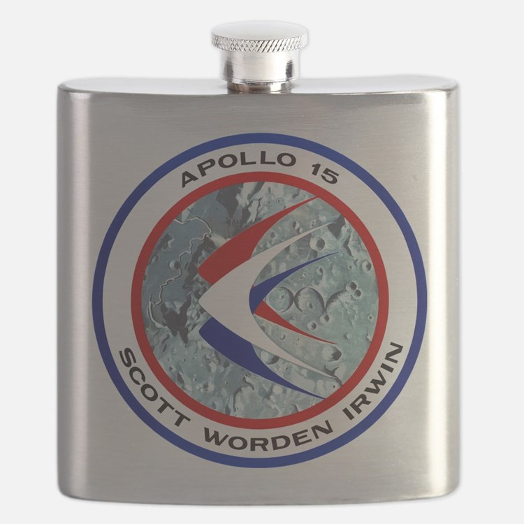 Apollo 15 Mission Patch Flask