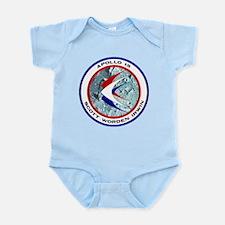 Apollo 15 Mission Patch Infant Bodysuit