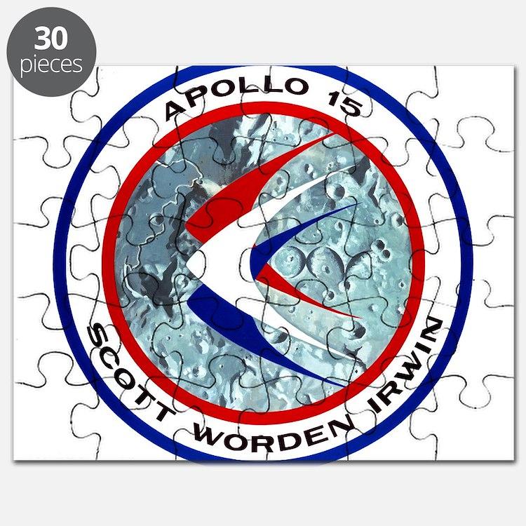 Apollo 15 Mission Patch Puzzle
