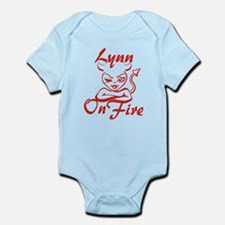 Lynn On Fire Infant Bodysuit