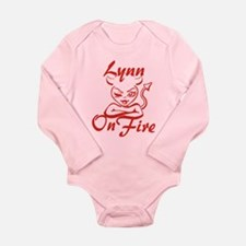 Lynn On Fire Long Sleeve Infant Bodysuit