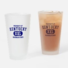Property of Kentucky, Bluegrass State Drinking Gla