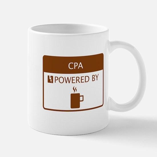 CPA Powered by Coffee Mug