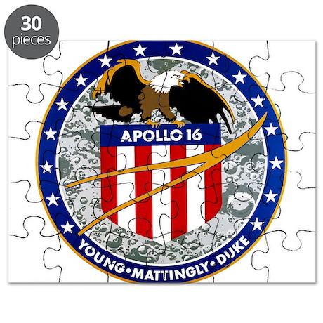 Apollo 16 Mission Patch Puzzle