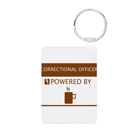 Correctional Officer Powered by Coffee Aluminum Ph