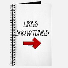 Likes Showtunes (Arrow) Journal
