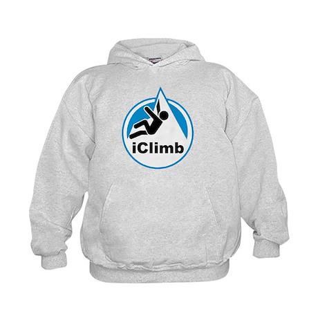 Rock Climber Kids Hoodie