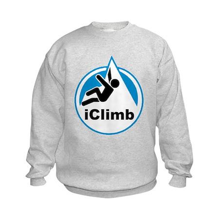 Rock Climber Kids Sweatshirt
