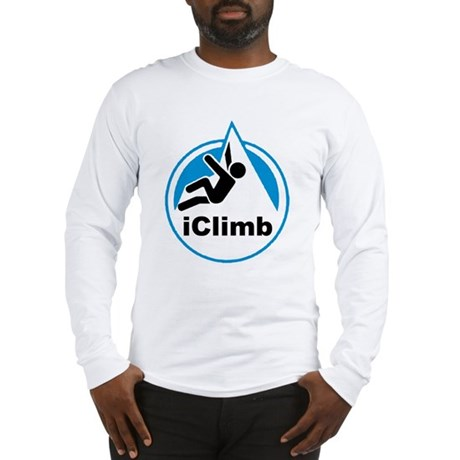 Rock Climber Long Sleeve T-Shirt