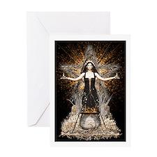 Wicca Greetings Card - Spellweaver II