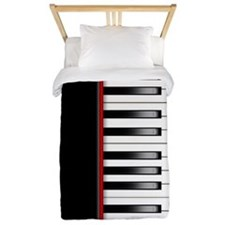Piano Keyboard Twin Duvet