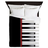 Piano keyboard bedding Bedroom Décor