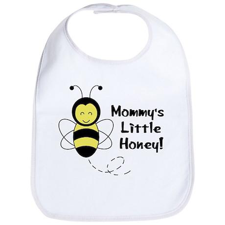 """Mommy's Little Honey"" Baby Bee Bib"