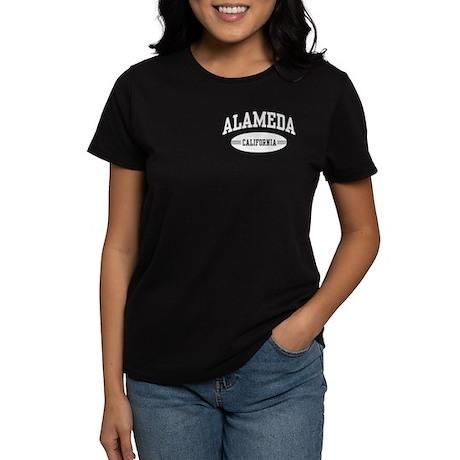 Alameda California Women's Dark T-Shirt