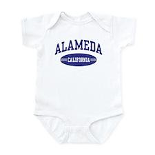 Alameda California Infant Bodysuit