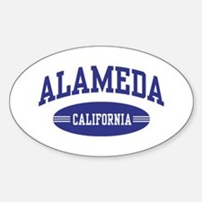 Alameda California Decal