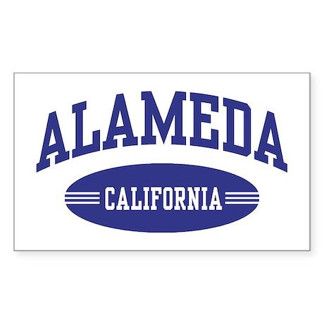 Alameda California Sticker (Rectangle)