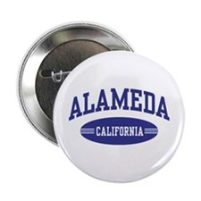 "Alameda California 2.25"" Button"