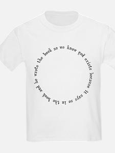 God Exists, A Circular Argument T-Shirt