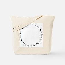 God Exists, A Circular Argument Tote Bag