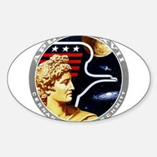Apollo 17 Mission Patch Decal