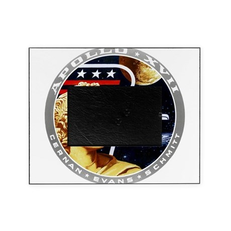 Apollo 17 Mission Patch Picture Frame by TheApolloStore