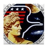 Apollo 17 Tile Coasters