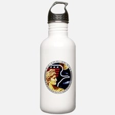 Apollo 17 Mission Patch Water Bottle