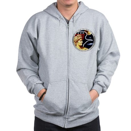 Apollo 17 Mission Patch Zip Hoodie