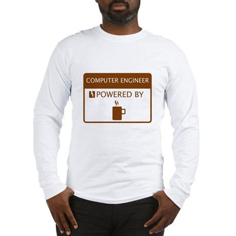Computer Engineer Powered by Coffee Long Sleeve T-