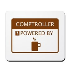 Comptroller Powered by Coffee Mousepad