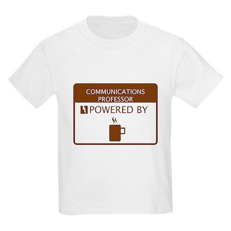 Communications Professor Powered by Coffee Kids Li