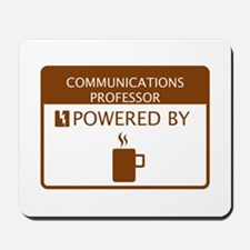 Communications Professor Powered by Coffee Mousepa