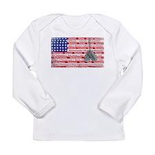 """Thank You Veteran"" Long Sleeve Infant T-Shirt"