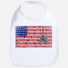 """Thank You Veteran"" Bib"