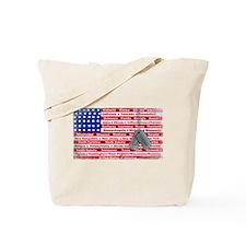 """""""Thank You Veteran"""" Tote Bag"""