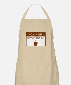 Coal Miner Powered by Coffee Apron