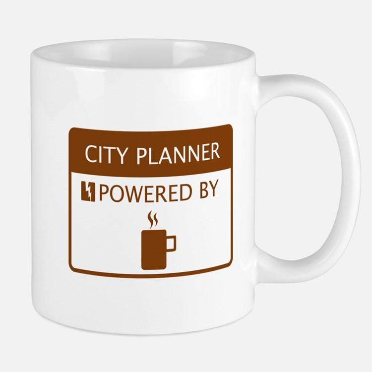 City Planner Powered by Coffee Mug